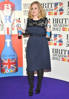 I love Adele's fashion choices!