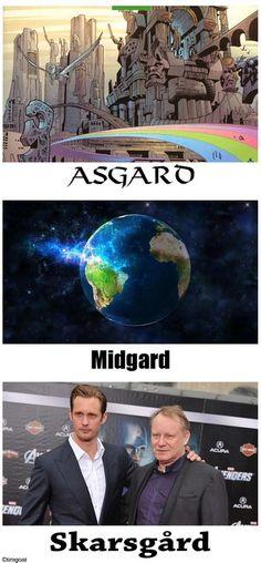 Asgard, Midgard, Skarsgard... Holy Jeevas.