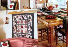 Apple Quilts | Choices Quilts offers Apple Quilts handmade for you! You can shop online or call us toll-free @ 1-800-572-2070 or 770-641-9700.
