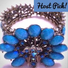 "Spotted while shopping on Poshmark: ""HOST PICK NIB Peacock Turquoise Gem Cuff""! #poshmark #fashion #shopping #style #Jewelry"