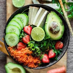 #VegetarianCuisine #Smoothie #Food #Vegetable Salad, Veganism, Granola, Fruit - #delicious #foodart #gastronomy #health #diet #smoothies #smoothiebowl - Follow #extremegentleman for more pics like this!
