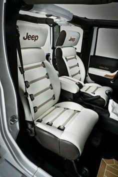 Love Jeep seats.
