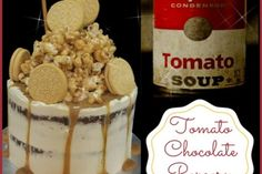 Tomato Chocolate Popcorn Cake (Baking Class) - Learn to bake tomato chocolate cake (Yes you're right there is tomato used :)), decorated with Caramel Italian Buttercream and caramel popcorn. Baking from scratch caramel sauce and popcorn too. A twist to your usual chocolate cake. You will love this cake! (LessonsGoWhere.com.sg)