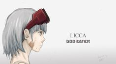 one of the characters from anime God Eater. The anime is so great, and i am interested to draw Licca. She is an engineer based on the story.  #anime #God_Eater #Licca #fanart #digitalart