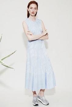 Look 17 - Ines Asymmetric Dress | Daphne Loafer Flatforms