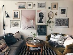 A Swedish House Is Renovated and Reimagined — Scandi Week House Tour (Apartment Therapy Main) Living Pequeños, Living Room, Apartment Therapy, Apartment Ideas, Gravity Home, Decoration Inspiration, Inspiration Wall, Decor Ideas, Swedish House