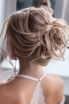 hair pin hair medium length updo wedding hair hair jewelry hair vine hair stylists for wedding hair hair natural Wedding Ponytail, Messy Wedding Hair, Bridal Hair Updo, Sleek Hairstyles, Wedding Hairstyles For Long Hair, Down Hairstyles, Medium Hair Styles, Curly Hair Styles, Natural Hair Styles