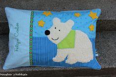 """Mausbär´s - Nähkiste: """" Pillow ... / Kissen ... """""""