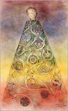 Los fantásticos dibujos de Sulamith Wulfing. - Taringa!