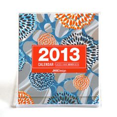 JHill 2013 Desk Calendar design inspiration on Fab.