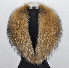 Size: Lining-leather length 86cm Natural raccoon fur collar scarf. The fur length will be much longer. Purpose : Fur collar is equipped with clip on coat, wear on it! (Suitable for Collar, hats, scarf, three uses). | eBay!
