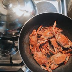 Crabs for lunch
