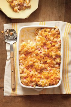 Baked Smokin' Macaroni and Cheese | Homemade hospitality. Despite the ease of texting, emailing, and ordering online, Southerners still believe in doing some things the old-fashioned way. Southern etiquette and hospitality will never be taken over by technology, which is why traditions like writing thank you notes, going to church, and bringing casseroles to your neighbors are still around. Whether a new neighbor just moved in, a current neighbor had a death in the family, or an old neighbor…
