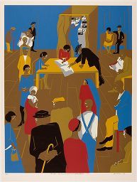 Many African Americans from the rural South who moved North during the Great Migration settled in New York City, resulting in the cultural movement known as the Harlem Renaissance. African American Art, American Artists, American History, Visual Thinking Strategies, Critical Thinking, Chicano Studies, Cast Art, Philadelphia Museum Of Art, Black Artists