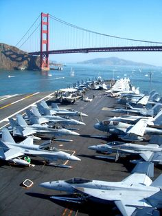 Aircraft carriers were once a common sight along the waterways beneath Golden Gate Bridge. For more than a century, the Bay Area was ringed by a handful of large Navy bases and shipyards that together served to shelter and repair a significant chunk of America's Pacific Fleet. The last of those bases closed during the 1990s, however, and with them the Navy's presence in the region all but disappeared.
