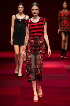 http://ellistyle-blog-k.tumblr.com/ Fashion Tumblr-Street Style,Fashion Trends & Models • by Dolce & Gabbana SS2015.