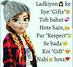 Quotes In Hindi Attitude, Attitude Thoughts, Girl Attitude, Crazy Girl Quotes, Crazy Girls, Friendship Quotes Images, Mean Humor, Cute Good Morning, Girl Facts