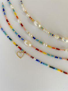 Cute Jewelry, Jewelry Crafts, Jewelry Accessories, Jewelry Design, Bead Jewellery, Pearl Jewelry, Jewelery, Pearl Bracelet, Handmade Wire Jewelry