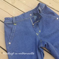 Back to school - new pair of homemade classic jeans