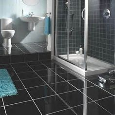 Black Cooling Cement Tile Flooring  - Available at Express Flooring Deer Valley North Phoenix Arizona