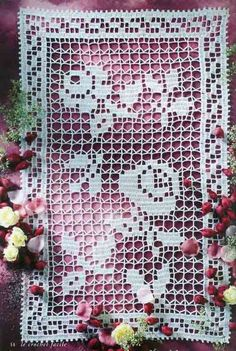 Delicadezas en crochet Gabriela: Colección de carpetas en Ganchillo