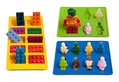 Lucentee Silly Candy Molds & Ice Cube Trays - Lego Building Bricks and Figures LUCENTEE http://www.amazon.com/dp/B00L7AKCYQ/ref=cm_sw_r_pi_dp_67H3ub1B0QZJ4