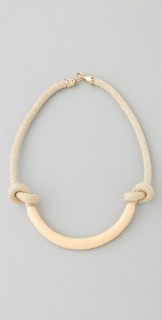 rope & clay necklace | orly genger, jaclyn mayer