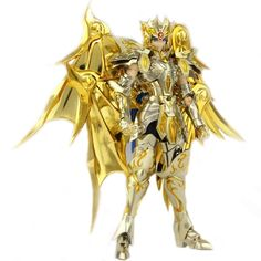 69.66$  Buy here - http://aliu3t.worldwells.pw/go.php?t=32721481567 - GREAT TOYS GreatToys GT EX Gemini Saga Saint Seiya Soul of Gold SOG Metal Armor Myth Cloth Gold Ex Action Figure Collectible Toy 69.66$