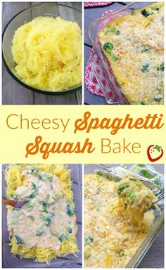 Cheesy Spaghetti Squash Bake | Healthy Ideas for Kids