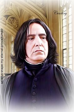 """Dᴏɴ'ᴛ. Lɪᴇ. Tᴏ ᴍᴇ."", severus-snape-my-eternal-prince: Love you, my..."