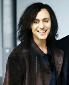 Tom Hiddleston. Gotta admit, he'll always look the best with long black hair, Loki-like.