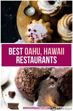 Hawaii Vacation, Oahu Hawaii, Hawaii Travel, Hawaii Honeymoon, Mini Vacation, Vacation Places, Backpacking Europe, Bora Bora, Honolulu Restaurants