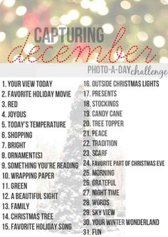 Ideas to count down Christmas
