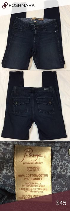 Paige SZ 27 Verdugo Jeggings Paige SZ 27 Verdugo Jeggings with approximately a 28.5in inseam. Paige Jeans Jeans Skinny