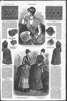 Gracieuse. Geïllustreerde Aglaja, 1885, aflevering 7, pagina 55