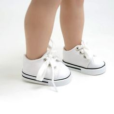 Handmade-Fashion-White-Shoes-for-18inch-American-Girl-Doll-Cute-Tennis-Shoes-Toy