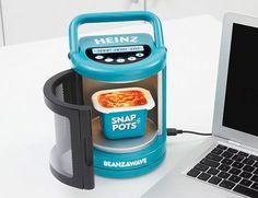 みんな大好きなんでもかんでもUSBムーブメントに新しい波がやってきました。ハインツがUSBお豆用電子レンジを開発中です。お豆用レンジ。かわい...