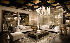 The new showroom of Roberto Cavalli Home Interiors in London