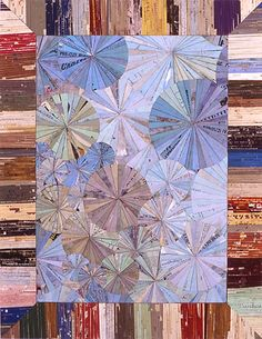 Amusing Story, 2004 - Collage on Board by Lance Letscher http://www.artnet.com/artists/lance-letscher/biography-links #art