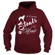 A Kuvasz steals my heart  Hoodie T-Shirts, Hoodies ==►► Click Image to Shopping NOW!