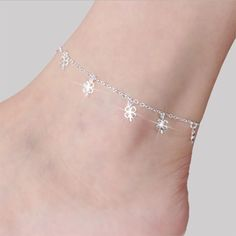 Jewelry & Watches Gold Or Silver Plated Figaro Anklet Ankle Bracelet Chain Uk Seller For Fast Shipping