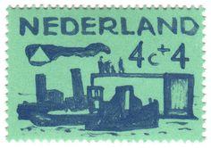 Nederland 4c+4