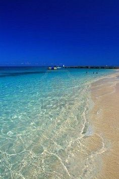 I've been here! Seven Mile Beach, Jamaica. So beautiful.. I do miss this beach.....