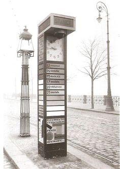 Tram stop | Praha, 1926