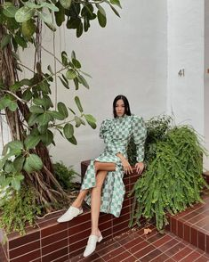 All The Checkered Print Pieces We're Coveting Now Stylish Work Outfits, Checker Print, Vintage Hippie, Vintage Bridal, For Love And Lemons, Lingerie Collection, Affordable Fashion, Fashion Prints, Fashion Brand