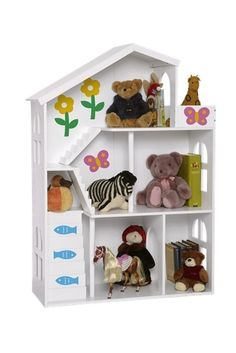 Conserve Space with Dollhouse As Storage | Apartment Therapy
