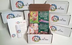 No subscription required!  Get your art box today! www.CreativeArtBox.com