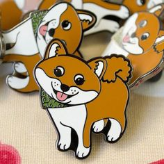 Repost @studio_marimo  Shiba Inu Enamel Pins! Sheebs might be my favourite dogs... right up there with corgis and pugs.  . marimoshop.com #studiomarimo #pin #pins #pingame #enamelpin #flair #lapelpin #shibainu #shiba #japanesedog #akitainu #dog #dogsofinstagram #doggo #doge #bbllowwnnup    (Posted by https://bbllowwnn.com/) Tap the photo for purchase info.  Follow @bbllowwnn on Instagram for the best pins & patches!