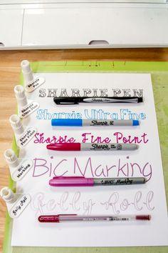 Details about Kid Sharp Favorites Cricut Explore/Maker Pen Adapter Set Kid Sharp Favorites Cricut Pen Adapter Set Cricut Vinyl, Cricut Craft Room, Cricut Pens Hack, Cricut Air 2, Cricut Help, Cricut Ideas, Cricut Tutorials, Cricut Project Ideas, Sewing Tutorials
