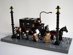 lego victorian steam carriage  | MOC: Victorian carriage